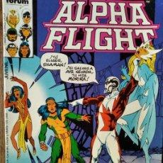 Cómics: ALPHA FLIGHT V.1 Nº 26 & LA MASA - FORUM MARVEL.. Lote 216444668