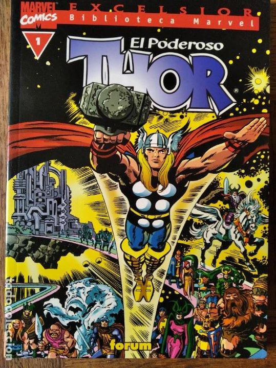THOR BIBLIOTECA MARVEL Nº 1 - CONTIENE LOS RELATOS DE ASGARD - (Tebeos y Comics - Forum - Thor)