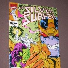 Cómics: THE SILVER SURFER Nº 6. JIM STARLIN, RON LIM, TOM CHRISTOPHER, VINCENT. FORUM, 1992. Lote 216480875