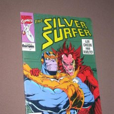 Cómics: THE SILVER SURFER Nº 7. JIM STARLIN, RON LIM, TOM CHRISTOPHER, VINCENT. FORUM, 1992. Lote 216481327