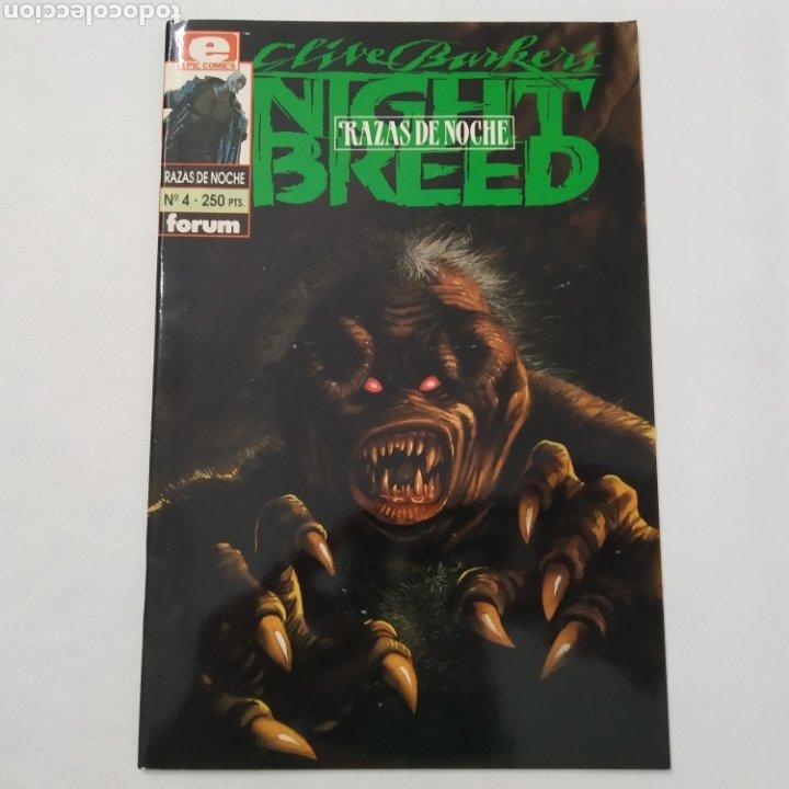 Cómics: Lote de 3 comics, Razas de noche, Night Breed de Clive Barke, números 4, 5 y 6 - Foto 2 - 216513465