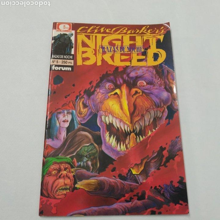 Cómics: Lote de 3 comics, Razas de noche, Night Breed de Clive Barke, números 4, 5 y 6 - Foto 5 - 216513465