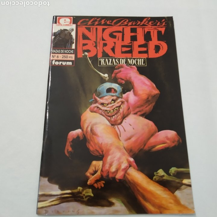 Cómics: Lote de 3 comics, Razas de noche, Night Breed de Clive Barke, números 4, 5 y 6 - Foto 10 - 216513465