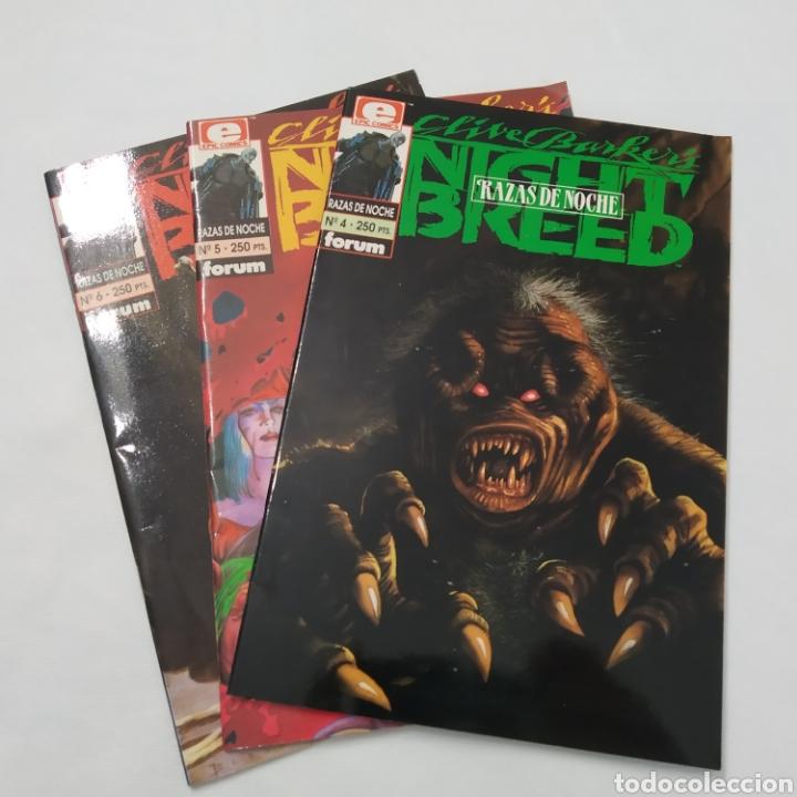 LOTE DE 3 COMICS, RAZAS DE NOCHE, NIGHT BREED DE CLIVE BARKE, NÚMEROS 4, 5 Y 6 (Tebeos y Comics - Forum - Otros Forum)
