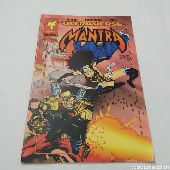 Cómics: Lote de 7 comics, Malibú - Ultraverse, MANTRA, números 1, 2, 3, 4, 5, 6 y 7 - Foto 2 - 216516016