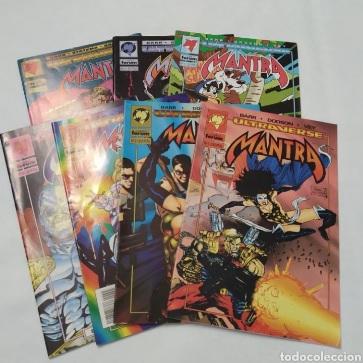 LOTE DE 7 COMICS, MALIBÚ - ULTRAVERSE, MANTRA, NÚMEROS 1, 2, 3, 4, 5, 6 Y 7 (Tebeos y Comics - Forum - Otros Forum)