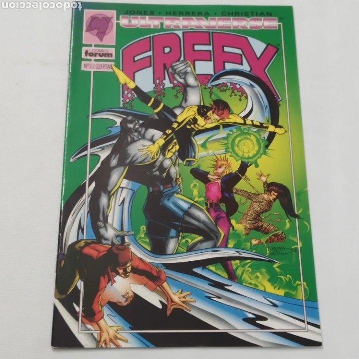 Cómics: Lote de 6 comics, Ultraverse, FREEX, números 2, 3, 4, 5, 6 y 7 - Foto 5 - 216516850