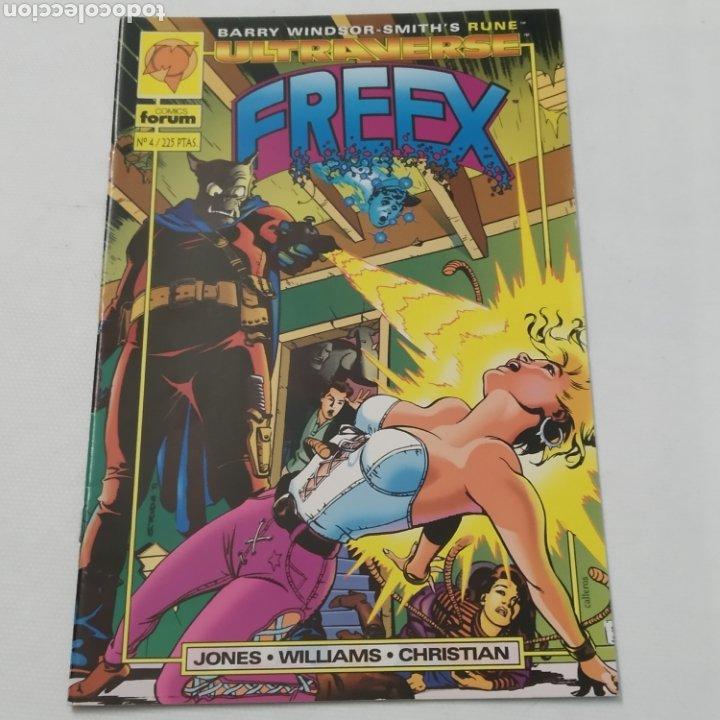 Cómics: Lote de 6 comics, Ultraverse, FREEX, números 2, 3, 4, 5, 6 y 7 - Foto 8 - 216516850