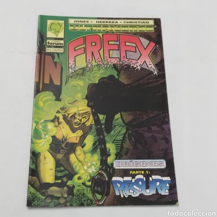 Cómics: Lote de 6 comics, Ultraverse, FREEX, números 2, 3, 4, 5, 6 y 7 - Foto 14 - 216516850
