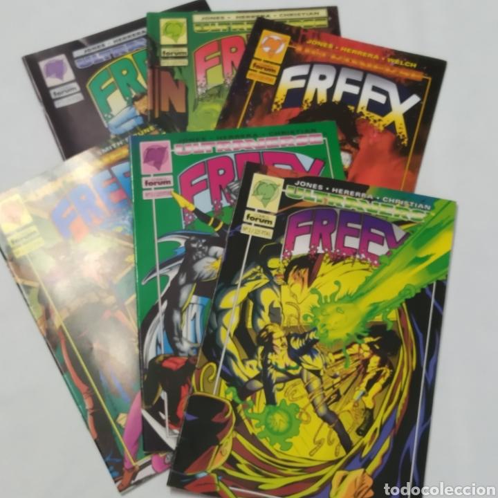 LOTE DE 6 COMICS, ULTRAVERSE, FREEX, NÚMEROS 2, 3, 4, 5, 6 Y 7 (Tebeos y Comics - Forum - Otros Forum)