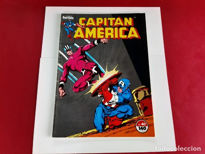 Cómics: CAPITAN AMERICA Nº 40 -FORUM-EXCELENTE ESTADO - Foto 2 - 216573653