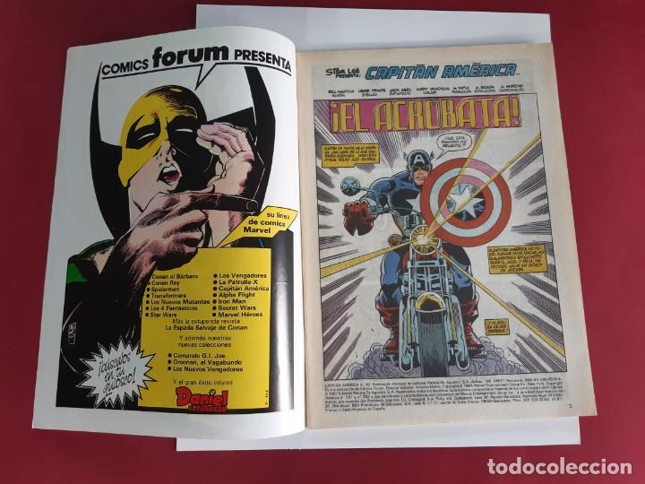Cómics: CAPITAN AMERICA Nº 40 -FORUM-EXCELENTE ESTADO - Foto 3 - 216573653