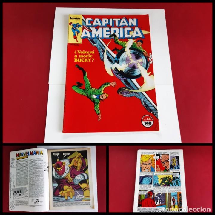 CAPITAN AMERICA Nº 44 -FORUM-EXCELENTE ESTADO (Tebeos y Comics - Forum - Capitán América)