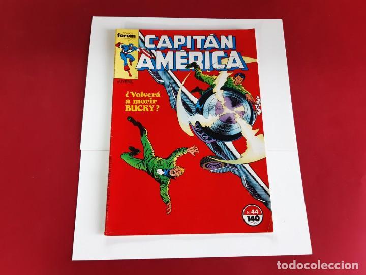 Cómics: CAPITAN AMERICA Nº 44 -FORUM-EXCELENTE ESTADO - Foto 2 - 216573778