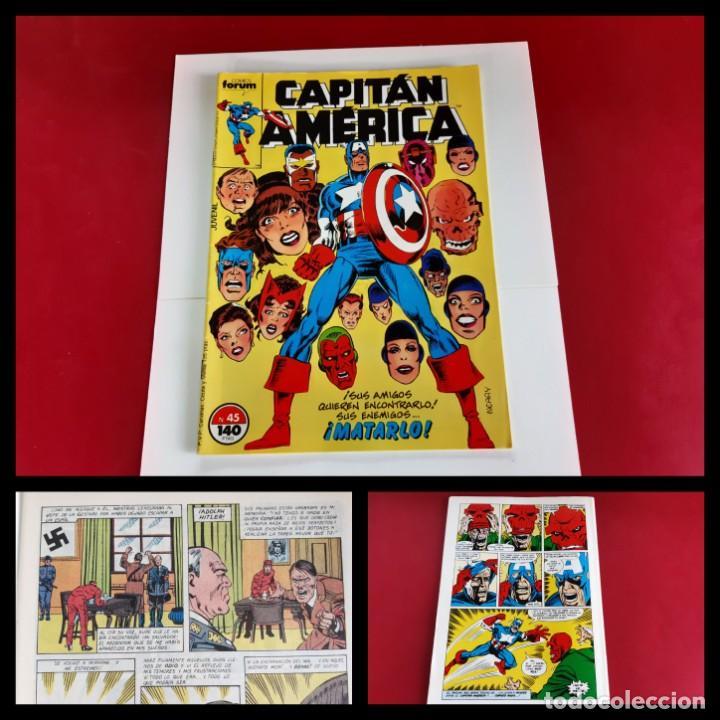 CAPITAN AMERICA Nº 45 -FORUM-EXCELENTE ESTADO (Tebeos y Comics - Forum - Capitán América)