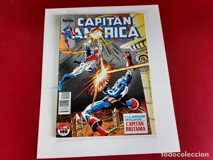 CAPITAN AMERICA Nº 49 -FORUM-EXCELENTE ESTADO (Tebeos y Comics - Forum - Capitán América)
