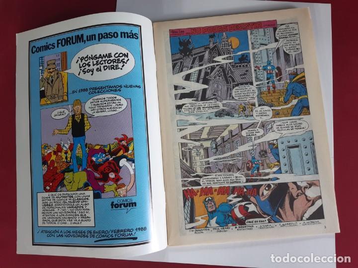 Cómics: CAPITAN AMERICA Nº 43 -FORUM-EXCELENTE ESTADO - Foto 2 - 216574330