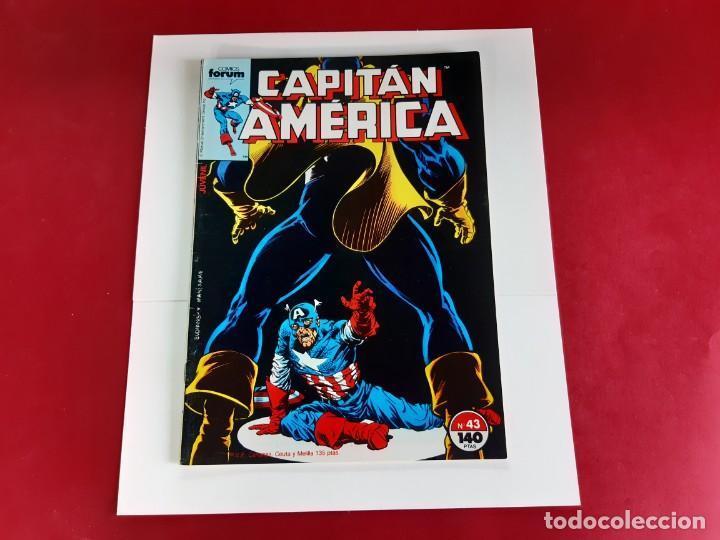 Cómics: CAPITAN AMERICA Nº 43 -FORUM-EXCELENTE ESTADO - Foto 4 - 216574330