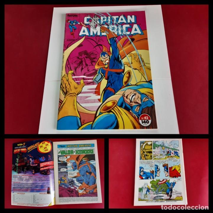 CAPITAN AMERICA Nº 42 -FORUM-EXCELENTE ESTADO (Tebeos y Comics - Forum - Capitán América)