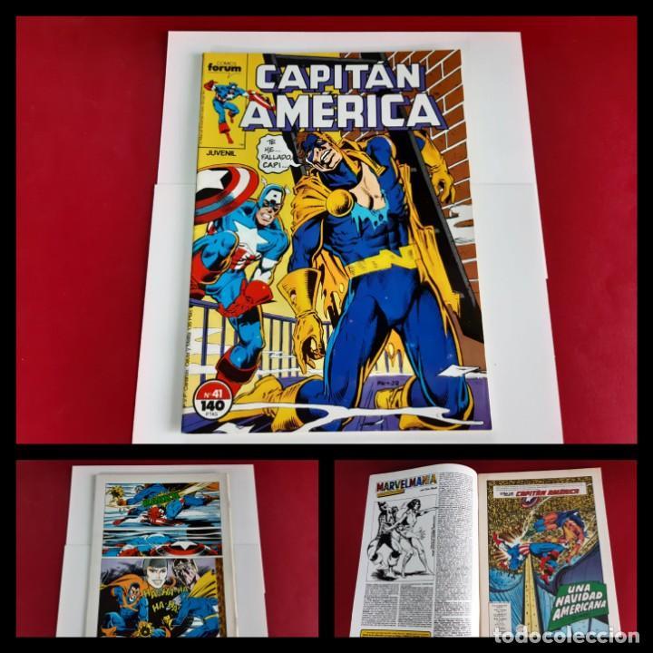 CAPITAN AMERICA Nº 41 -FORUM-EXCELENTE ESTADO (Tebeos y Comics - Forum - Capitán América)