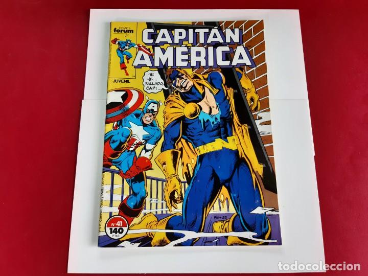 Cómics: CAPITAN AMERICA Nº 41 -FORUM-EXCELENTE ESTADO - Foto 2 - 216574693