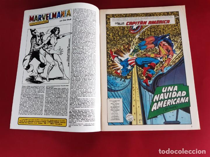 Cómics: CAPITAN AMERICA Nº 41 -FORUM-EXCELENTE ESTADO - Foto 3 - 216574693