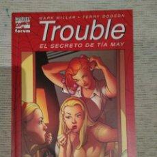 Cómics: TROUBLE. EL SECRETO DE TÍA MAY. FORUM. RÚSTICA.. Lote 216637208