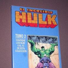 Cómics: EL INCREIBLE HULK RETAPADO 2 CON LOS Nº 6, 7, 8, 9 Y 10. DAVID, KUBERT, FARMER. FORUM, 1999. Lote 216700697