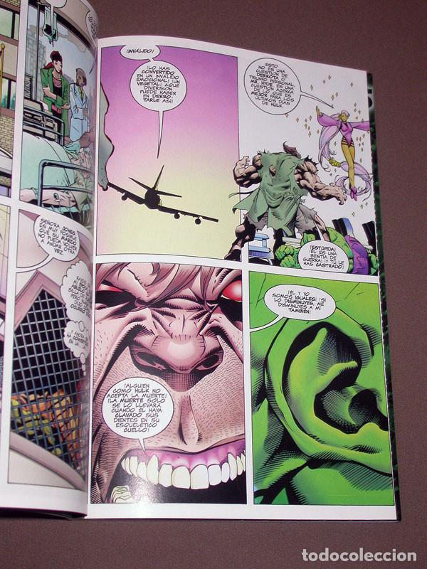 Cómics: EL INCREIBLE HULK RETAPADO 2 CON LOS Nº 6, 7, 8, 9 Y 10. DAVID, KUBERT, FARMER. FORUM, 1999 - Foto 3 - 216700697