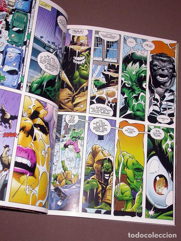 Cómics: EL INCREIBLE HULK RETAPADO 2 CON LOS Nº 6, 7, 8, 9 Y 10. DAVID, KUBERT, FARMER. FORUM, 1999 - Foto 5 - 216700697