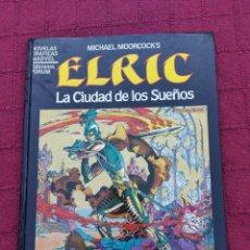 Cómics: ELRIC LA CIUDAD DE LOS SUEÑOS-NOVELAS GRAFICAS MARVEL EDICIONES FORUM,MICHAEL MOORCOCK'S. Lote 216721616