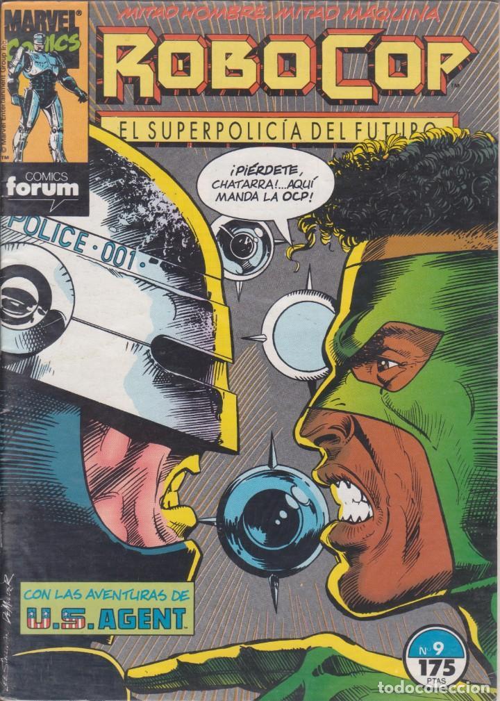 CÓMIC MARVEL ROBOCOP Nº 9 ED, PLANETA / FORUM (Tebeos y Comics - Forum - Otros Forum)