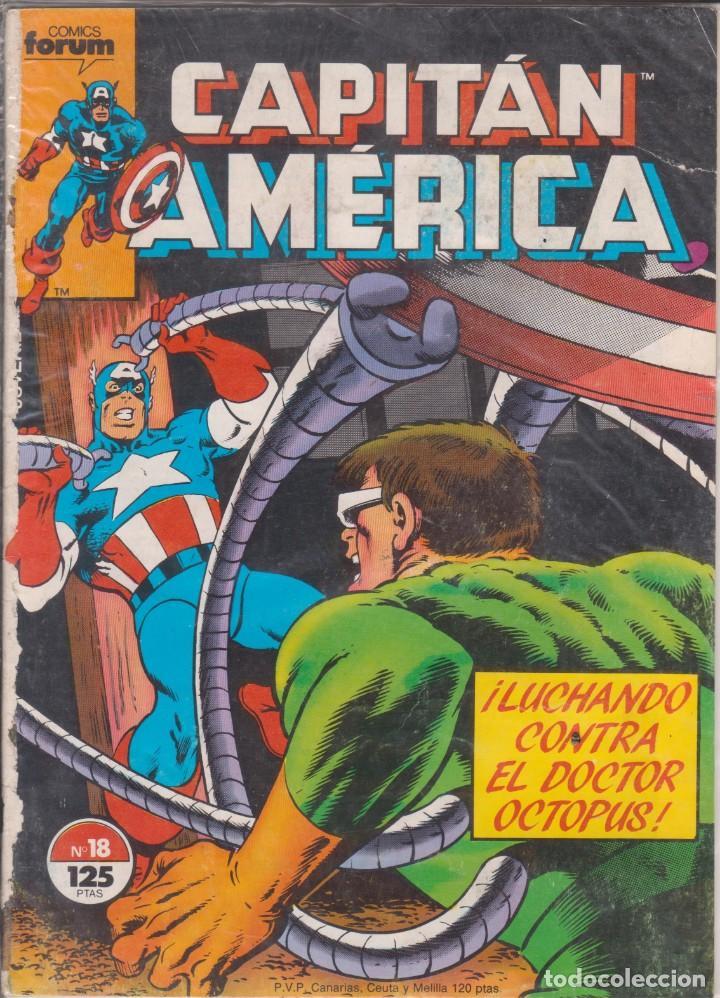 CÓMIC MARVEL CAPITÁN AMÉRICA Nº 18 ED, PLANETA / FORUM (Tebeos y Comics - Forum - Capitán América)