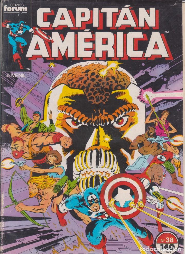CÓMIC MARVEL CAPITÁN AMÉRICA Nº 38 ED, PLANETA / FORUM (Tebeos y Comics - Forum - Capitán América)