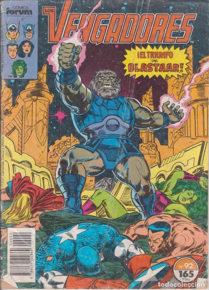 CÓMIC MARVEL LOS VENGADORES Nº 92 ED, PLANETA / FORUM (Tebeos y Comics - Forum - Vengadores)