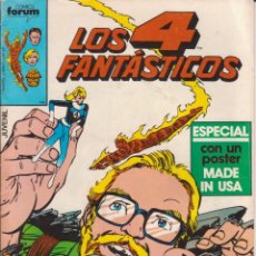 Cómics: CÓMIC MARVEL LOS 4 FANTÁSTICOS Nº 21 ED, PLANETA / FORUM. Lote 216739177