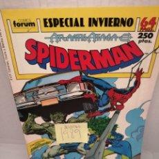 Cómics: SPIDERMAN, FORUM: ESPECIAL INVIERNO 1989. Lote 216745870