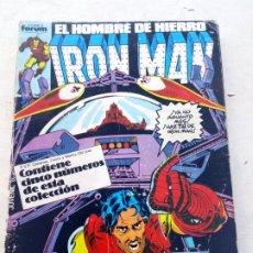 Cómics: IRON MAN RETAPADO CON LOS Nº 21 AL 25 FORUM. Lote 216908583