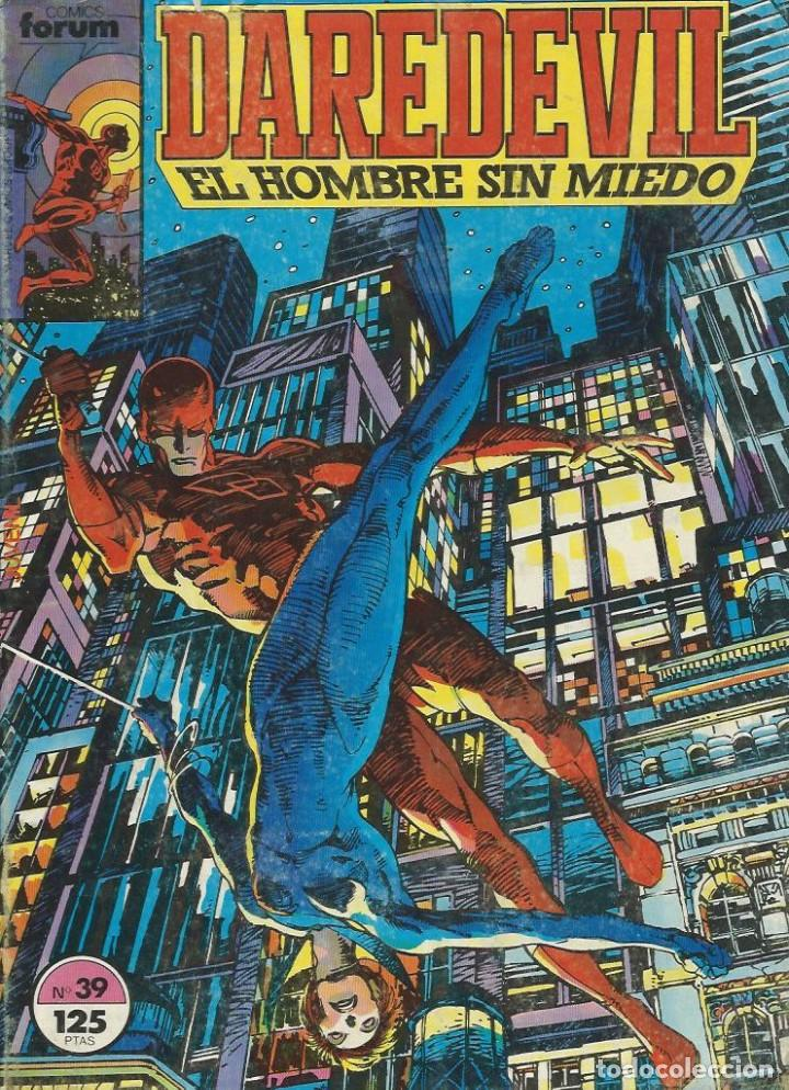 DARE DEVIL Nº 39 (Tebeos y Comics - Forum - Daredevil)