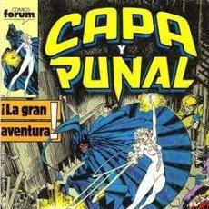Comics: CAPA Y PUÑAL COMPLETA 23 COMICS - FORUM MTIO LA COSA. Lote 216930116