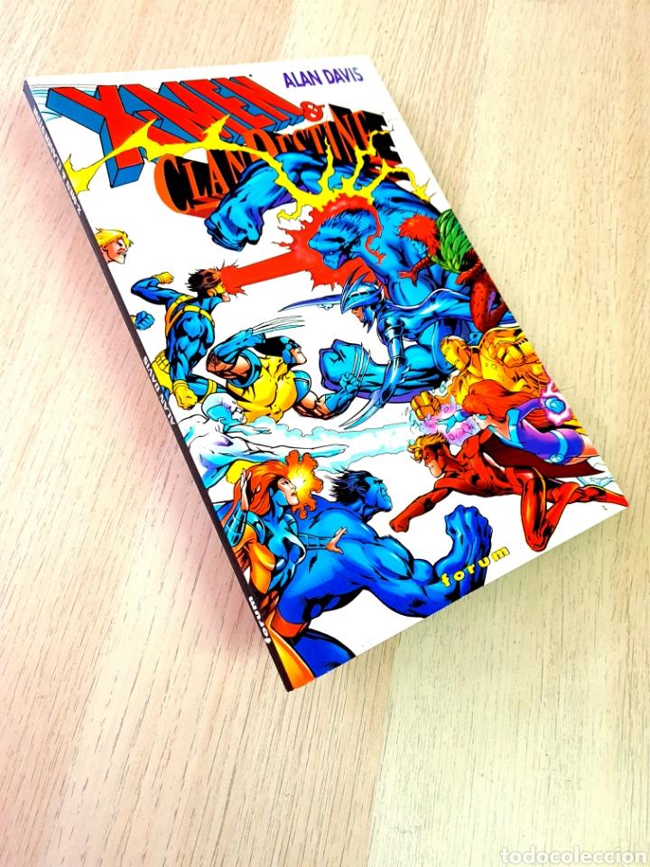 EXCELENTE ESTADO X-MEN Y CLANDESTINE TOMO FORUM (Tebeos y Comics - Forum - X-Men)