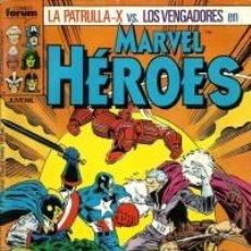Comics: PATRULLA X VS LOS VENGADORES (MARVEL HEROES 7-10). Lote 217025025