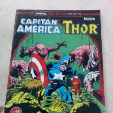 Comics : CAPITÁN AMÉRICA & THOR VOL.1 Nº 68 TWO-IN-ONE FORUM. Lote 217030030