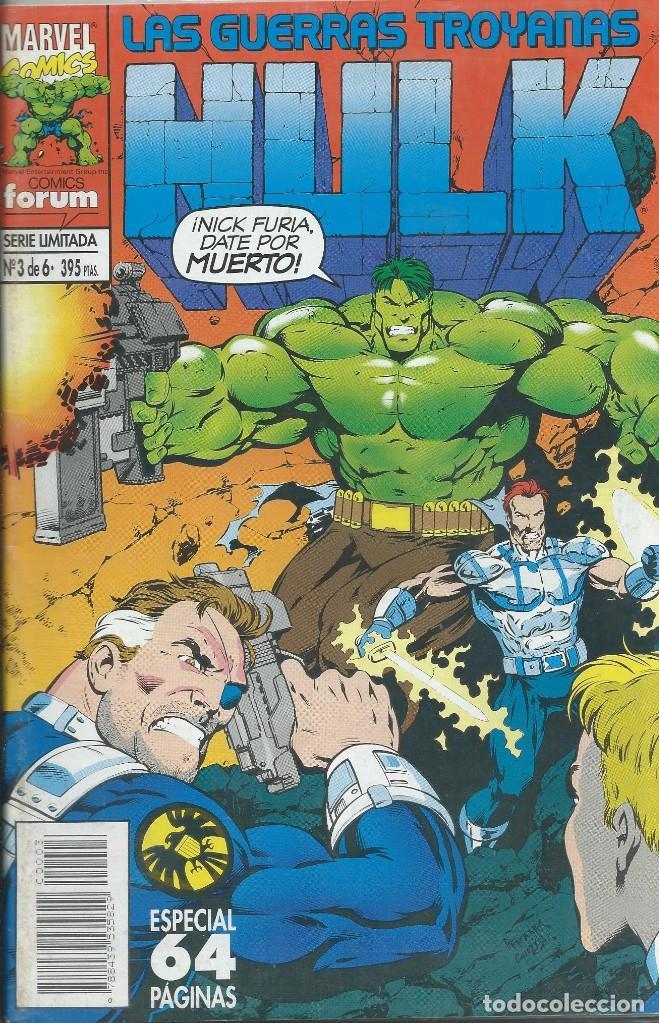 HULK SERIE LIMITADA Nº 3 DE 6. ESPECIAL FORUM (Tebeos y Comics - Forum - Hulk)