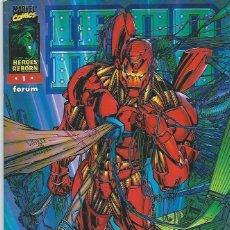 Cómics: IRON MAN HEROES REBORN Nº 1 FORUM. Lote 217036665