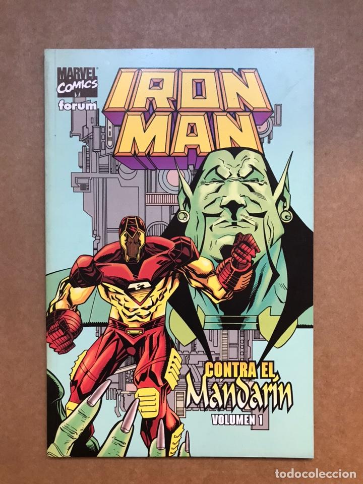 IRON MAN CONTRA EL MANDARÍN - TOMO 1 - FORUM (Tebeos y Comics - Forum - Iron Man)