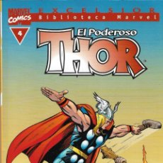 Cómics: EL PODEROSO THOR Nº 4 - EXCELSIOR BIBLIOTECA MARVEL - MARVEL COMICS - FORUM - 2001.. Lote 217077400