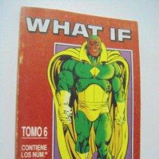 Fumetti: WHAT IF - TOMO 6 - RETAPADO Nº 26 AL 30 - ED. FORUM. Lote 217079350