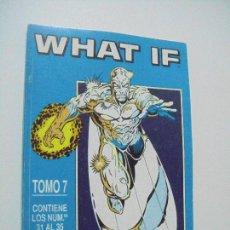 Fumetti: WHAT IF - TOMO 7 - RETAPADO Nº 31 AL 35 - ED. FORUM. Lote 217079642