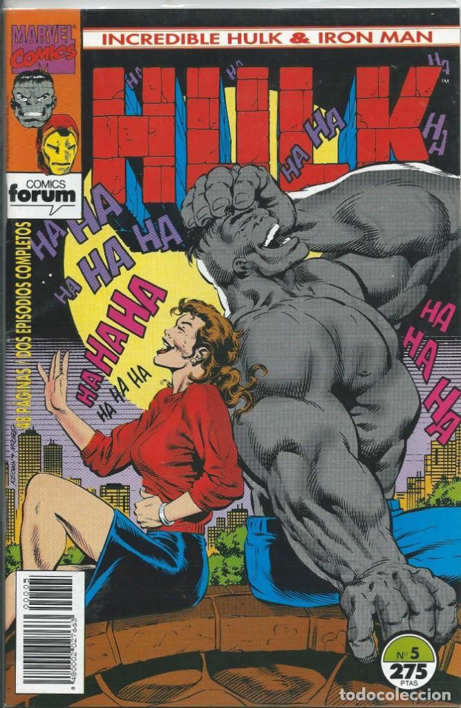 HULK & IRONMAN Nº 5 (Tebeos y Comics - Forum - Hulk)